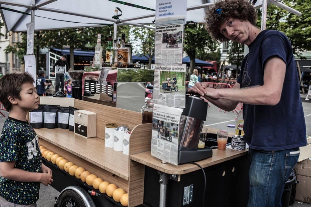 mobiele espressobar