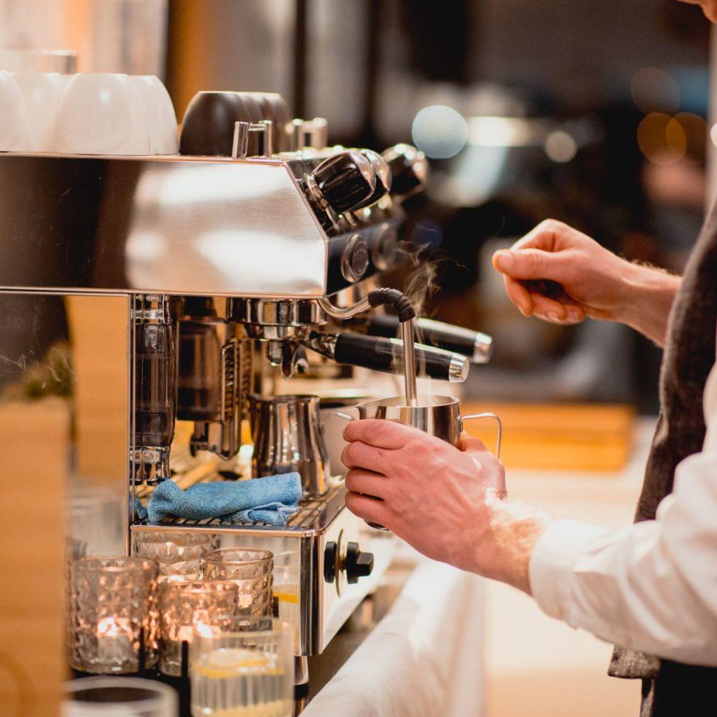 espressomachine huren